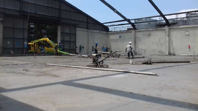 COOLING TOWER, PILE SLAB & REINFORCEMENT WALL
